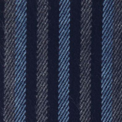 cold weather accessories for men: Navy Perry Ellis Multistriped Woven Scarf