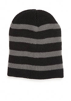 Saddlebred Striped Knit Slouchy Hat