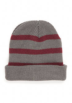 Saddlebred Striped Knit Slouchy Hat