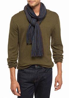 Saddlebred Multi Color Striped Scarf