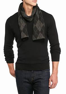 Saddlebred Argyle Knit Scarf