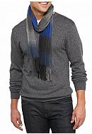 Saddlebred® Grid Printed Cashmere Fancy Scarf