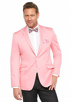 Madison Slim-Fit Pink Solid Motion Stretch Sport Coat