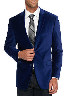 Madison Slim-Fit Royal Velvet Sport Coat