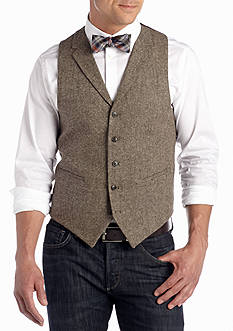Madison Brown Donegal Lapel Vest