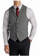 Madison Gray Donegal Lapel Vest