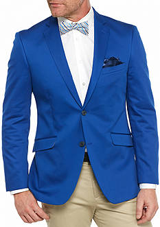 Madison Big & Tall Royal Solid Motion Stretch Sport Coat