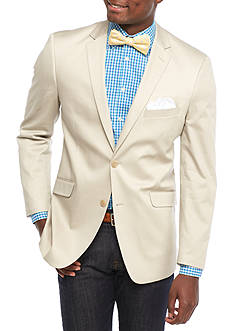 Madison Slim-Fit Putty Solid Motion Stretch Sport Coat