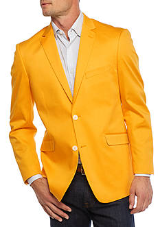 Madison Slim-Fit Gold Solid Motion Stretch Sport Coat