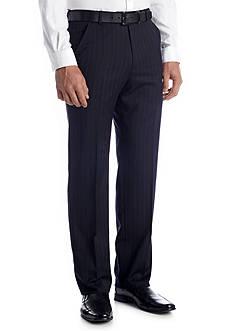 Palm Beach Classic Fit Cole Navy Stripe Pants