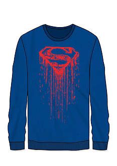 BioWorld Long Sleeve Superman Drip Tee