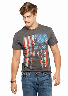 BioWorld American Flag Batman® Graphic Tee
