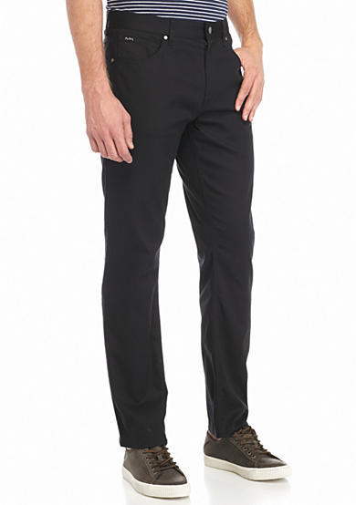 Michael Kors Tailored Fit 5-Pocket Pants