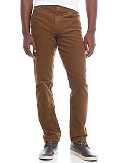 Michael Kors Tailored Fit Corduroy 5-Pocket Pants