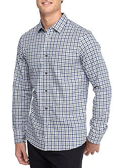 Michael Kors Wagner Tailored Fit Checked Woven Shirt
