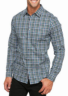Michael Kors Tailored-Fit Romeo Gingham Check Shirt