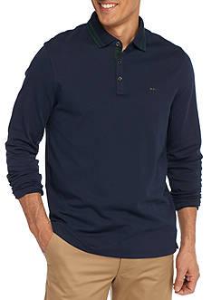Michael Kors Long Sleeve Interlock Polo