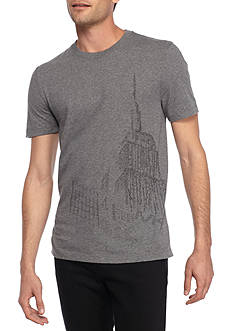 Michael Kors Short Sleeve Empire State Graphic Tee