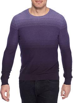 Michael Kors Ombre Marl Cotton Crew Neck Sweater