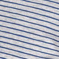 Men: Stripes Sale: Heather Gray Michael Kors Mini Mariner Open Polo Shirt
