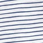 Michael Kors for Men: White Michael Kors Mini Mariner Open Polo Shirt