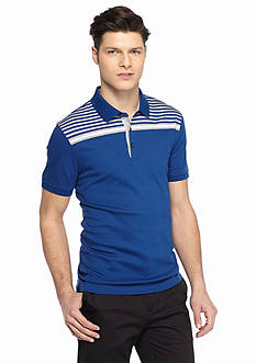 Michael Kors Pop Chest Stripe Polo Shirt