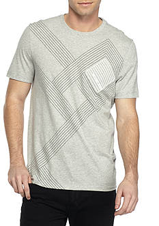 Michael Kors Short Sleeve Maze Graphic Tee