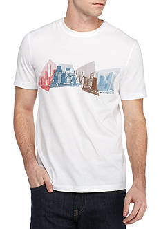 Michael Kors Short Sleeve Geocity Graphic Tee
