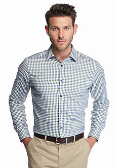 Michael Kors Tailored Fit Davis Twill Check Shirt