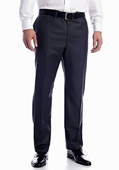 Lauren Ralph Lauren Tailored Clothing Big & Tall Ultraflex Suit Separate Flat Front Pants