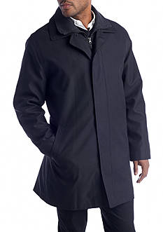 Lauren Ralph Lauren Lauren Edgar Black Short Raincoat