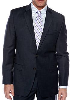 Lauren Ralph Lauren Big & Tall Portly Ultraflex Windowpane Suit Separate Coat