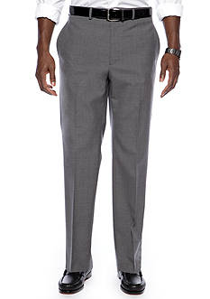 Lauren Ralph Lauren Straight Fit Flat Front Dress Pants