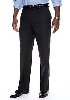 Lauren Ralph Lauren Straight Fit Flat Front Dress Pants