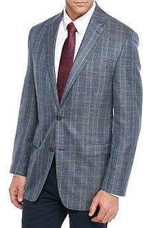 Lauren Ralph Lauren Classic Fit Plaid Sport Coat