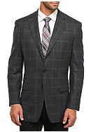 Lauren Ralph Lauren Classic Fit Windowpane Wool