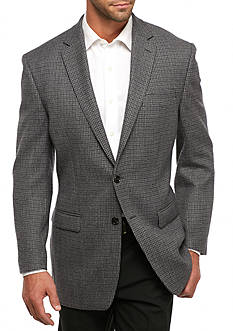 Lauren Ralph Lauren Classic Fit Check Wool Sport Coat