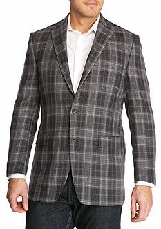 Lauren Ralph Lauren Classic Fit Plaid Wool Sport Coat