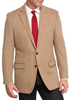 Lauren Ralph Lauren Camel Wool Silk Cashmere Blend Sport Coat