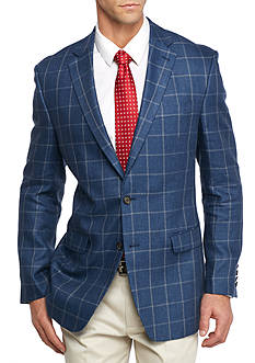 Lauren Ralph Lauren Classic Fit Windowpane Sport Coat