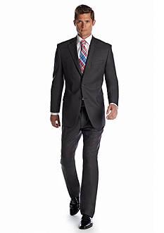 Lauren Ralph Lauren Tailored Clothing Classic Fit Solid Gray Suit