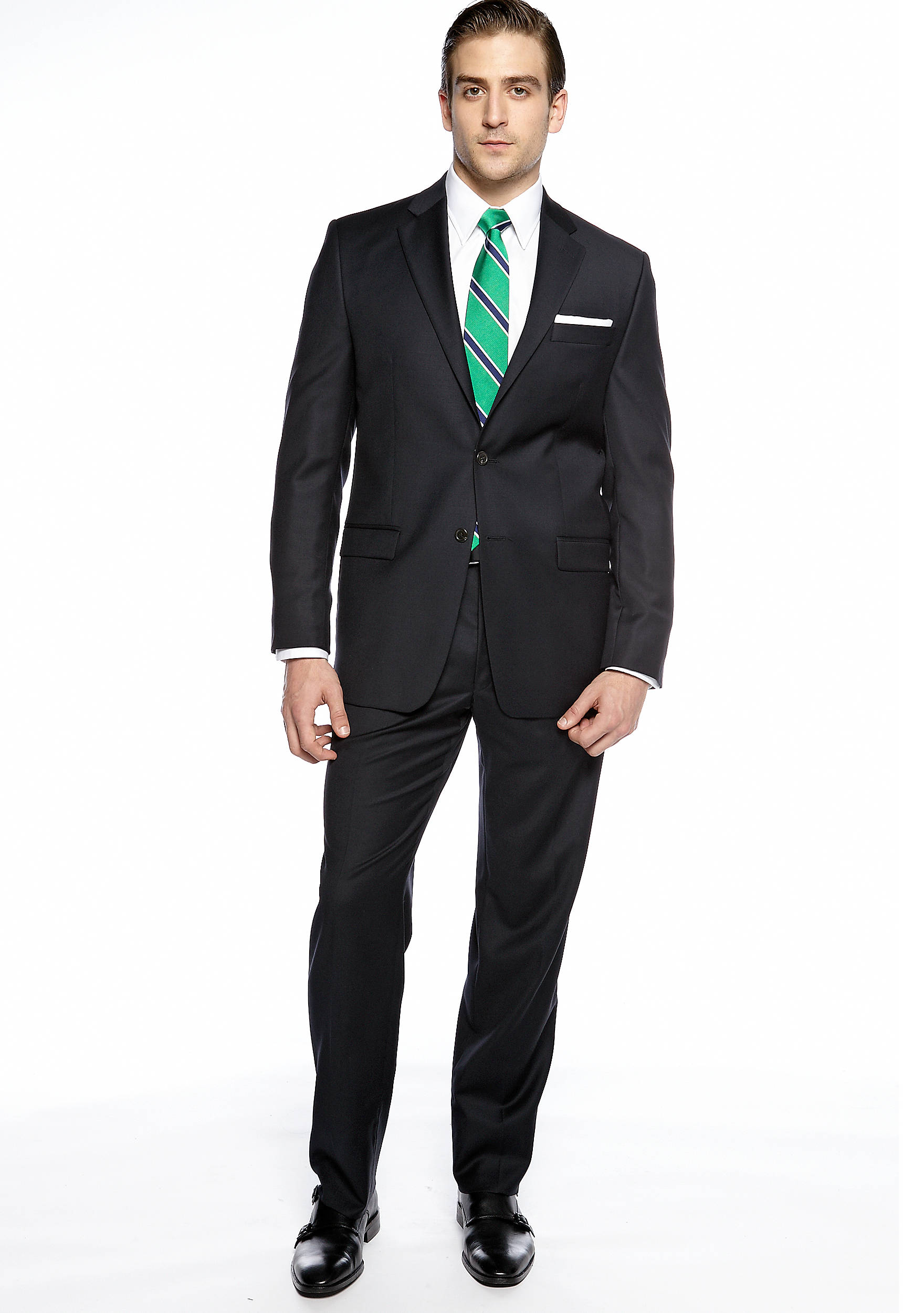 Lauren Ralph Lauren Classic Fit Navy Suit | belk