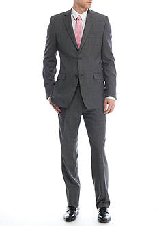 Lauren Ralph Lauren Classic-Fit Shark Windowpane Suit