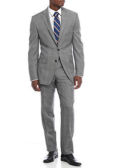 Lauren Ralph Lauren Classic-Fit Ultraflex Plaid Suit