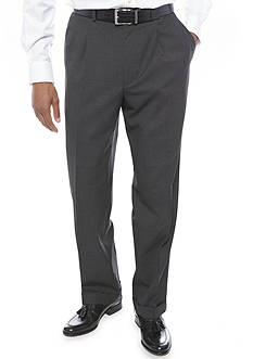 Lauren Ralph Lauren Classic Fit Total Comfort Stretch Pleated Dress Pants