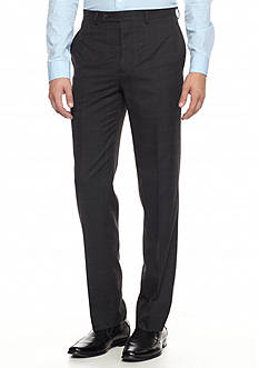 Lauren Ralph Lauren Tailored Clothing Men's Windowpane Dress Pants