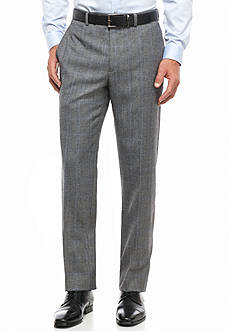 Lauren Ralph Lauren Classic Fit Windowpane Plaid Wool Pant