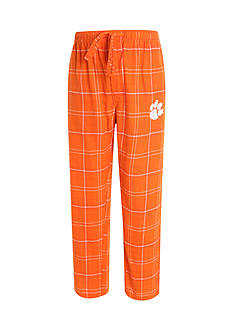 College Concepts Clemson Tigers Flannel Lounge Pants