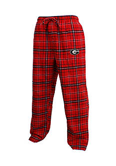 College Concepts Georgia Bulldogs Flannel Lounge Pants