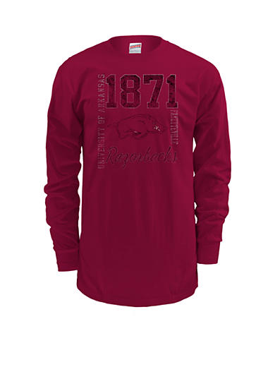 MJ Soffe Arkansas Razorbacks Long Sleeve Team Tee